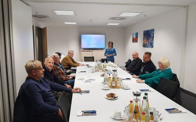 Besuch bei der Darmstadt Marketing GmbH